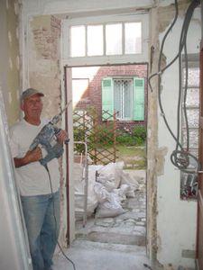 J 581 jour 195 chambre d 39 amis et porte d 39 entr e notre petite - Changer une porte de chambre ...