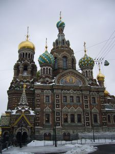 003 : Cathedrale, St Petersbourg