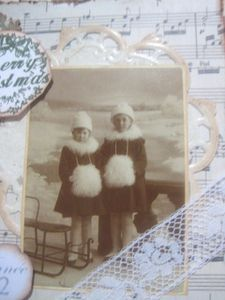 carte vintage fillette 3