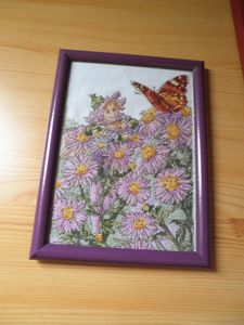 elfe des asters broderie 4