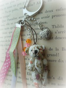 PORTE CLES OURS 15