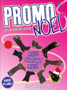 Affiche promo Noel &