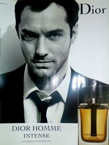 Dior Homme Intense pub Jude Law 2011