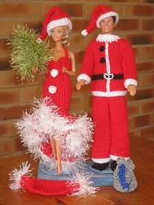 explication tricot ken et barbie noel