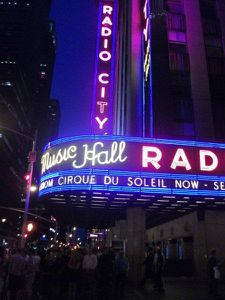 49 le cirque du soleil au Radio city Music hall
