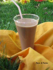 smoothie coco nutella banane