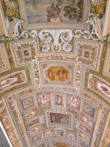 Vatican- Plafond musée 2