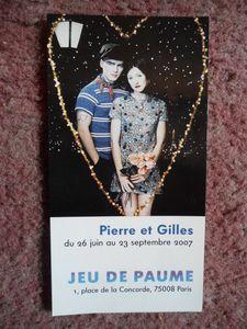45-2007 sticker exposition Jeu de Paume