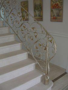 Rampe D Escalier Patinee Atelier Dans Fer
