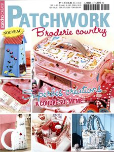 Patchwork Broderie country