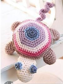 tortue crochet drops
