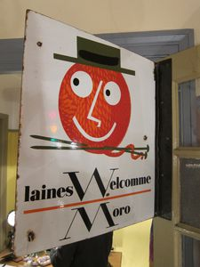 R841 PLAQUE LAINE WELCOMME