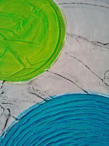3 colourful circles (détail 2)