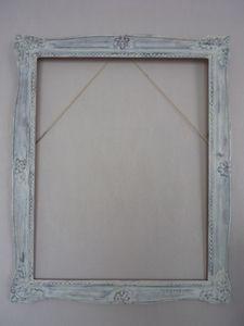 Grand cadre dor patin puis transform en miroir le for Miroir qui fait peur