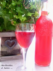 vin de groseilles rouges