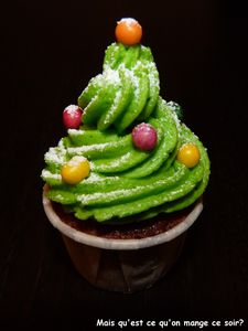 cupcake sapin de nol 5
