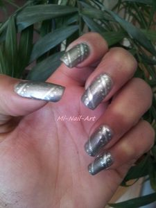 Opi Katty Perry et liner gris 3