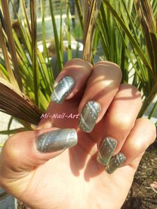Opi Katty Perry et liner gris 4