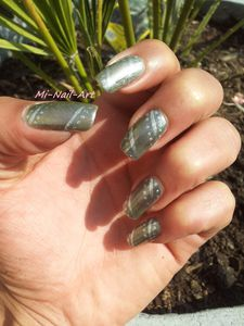 Opi Katty Perry et liner gris
