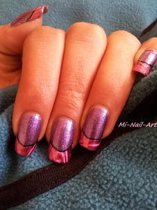 French'foil and purple 6