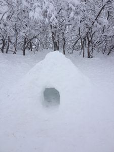 Raquette igloo 11 02 13