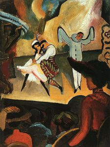 450px-Macke Russisches Ballett 1