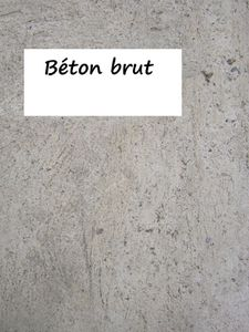 Capucine ma d co naturelle for Peinture aspect beton