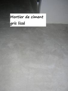 Ciment liss b ton cir mortier une question de vocabulaire peintures et enduits - Difference entre mortier et beton ...