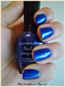 Swatch kleancolor 009 cobalt 1