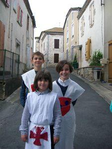 médiévales bruch 2013 école sainte anne feugarolles 047