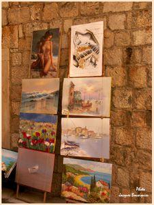 Dubrovnik art rue