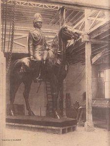 statue Rama V paris
