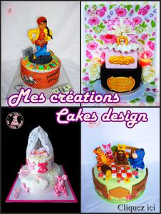 Crations cakes design