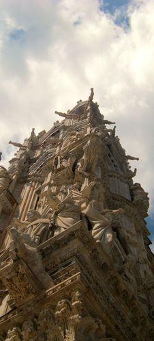 Sienne--facade-Duomo