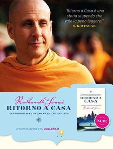 Yogi Mistici e Maestri senza tempo in un viaggio interiore straordinario. L'Autobiografia di uno Swami americano di Radhanath Swami sarà presentato a Palermo (Villa Niscemi) il 15 maggio prossimo
