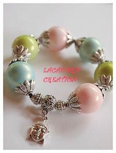 Lacaudry Création - bracelet-bracelet-boule-bollywwood-rom