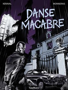Couverture de l'album Danse macabre - 2012 (Sixto Editions - Collection CasaNostra, BD polar)