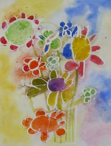 bouquet aquarelle Thomas