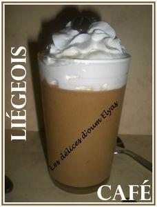 Liégeois au café