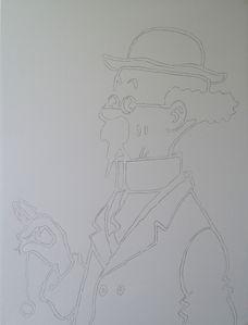 Tintin - Professeur Tryphon Tournesol