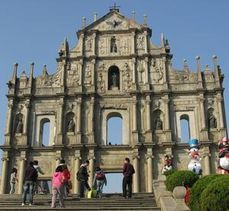 Macao ,ruines &#xE9;glise st Paul