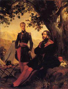 Aumale et duc d-orleans