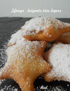 sfengs , beignets très légers