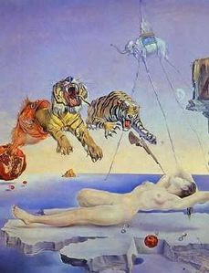 salvador-dali-reve-cause-par-le-vol-d-une-abeille-une-secon