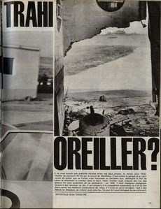 Paris match du 20 oct 1962 accident Henri Oreiller p11L