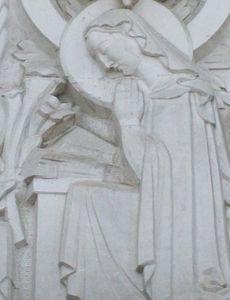 église du sacré coeur agen tympan annonciation