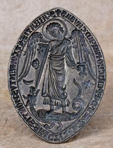 matrice sceau Mont Saint Michel - face