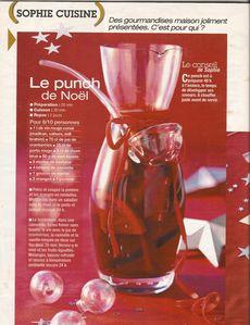 Punch de Noël Cadeaux gourmands