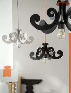 lustre en carton tuto gratuit diy tutolibre. Black Bedroom Furniture Sets. Home Design Ideas
