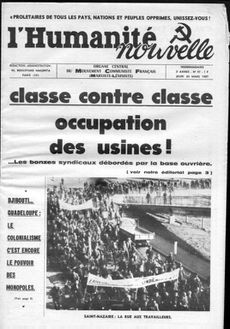 Classe contre classe - occupation des usines